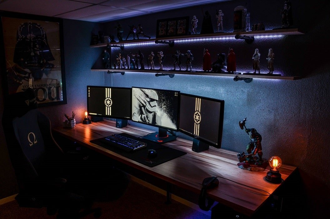 Best Star Wars Theme Gaming room