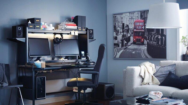 Large Ikea gaming desk